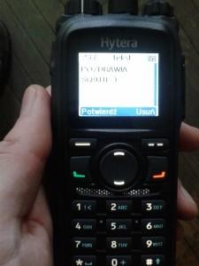 Hytera PD785 DMR